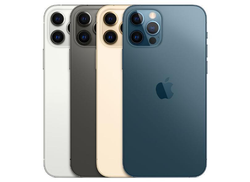 Smartphone Apple iPhone 12 Pro 6 GB 512GB Câmera Tripla Apple A14 Bionic iOS 14
