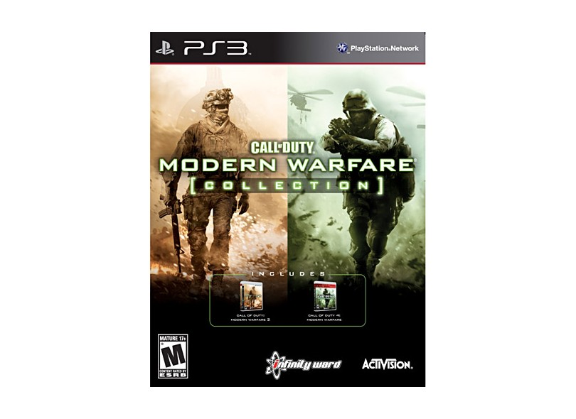 Jogo Call of Duty: Modern Warfare Collection Activision PS3