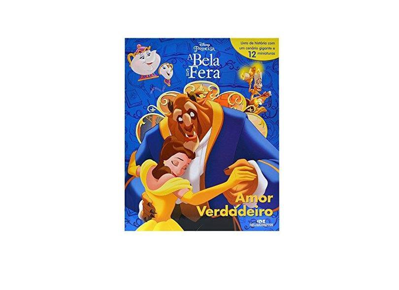 Amor Verdadeiro. Disney Princesa, a Bela e a Fera - Vários Autores - 9788506082621