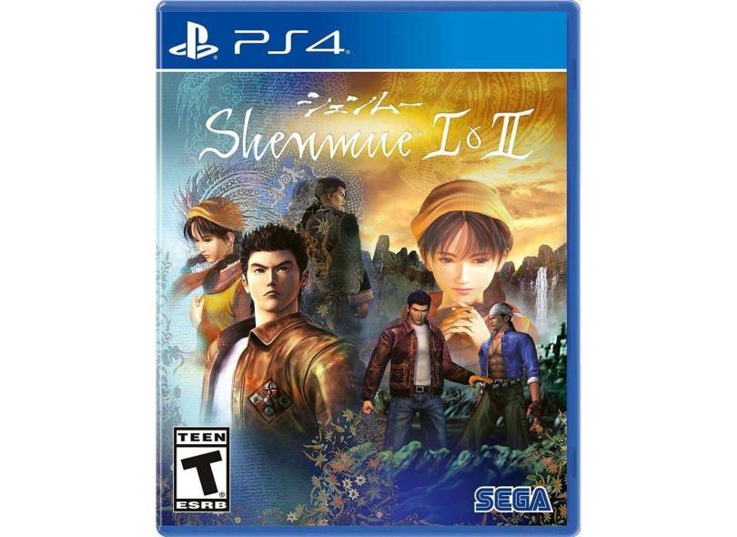 Jogo Shenmue I e II PS4 Sega