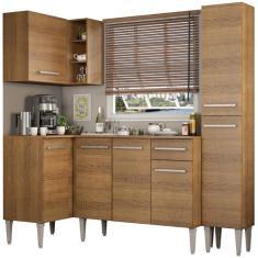 Imagem de Cozinha Completa 1 Gaveta 7 Portas Emilly Song Madesa
