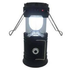 Imagem de Lampiao Solar Lanterna De Emergencia Led Recarrega Celular