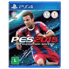 Jogo Pro Evolution Soccer 2015 PS4 Konami