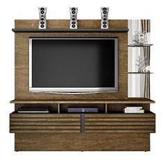 Imagem de Painel Home Suspenso Valdemóveis Miami para TV de até 65 polegadas - Ipé/Grafite -