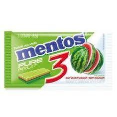 Imagem de Chiclete Mentos Pure Fresh 3 Fruit Watermelon 8,5g