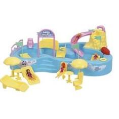 Imagem de Parque Aquático Infantil Homeplay Com Bonecos