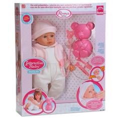 Imagem de Boneca Bebê Baby Inalação Roma Brinquedos
