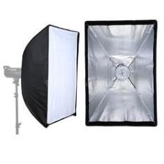 Imagem de Softbox Studio Light 60X60cm para Flash Tocha com Instalação Rápida