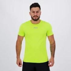 Imagem de Camiseta Fila Basic Sunprotect UV Verde