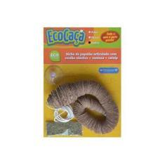Petgames Eco Caça Cobra Brinquedo Natural Para Gatos