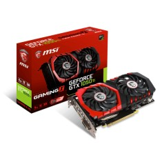 Placa de Video NVIDIA GeForce GTX 1050 Ti 4 GB GDDR5 128 Bits MSI GTX 1050 Ti GAMING X 4G