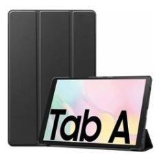 Imagem de Capa Smart Case Samsung Galaxy Tab A7 10,4'' (2020) Sm-T505 Sm-T500- PRETO