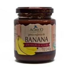Imagem de Geleia de Banana Orgânica Sem Adição De Açúcar Agreco 240g