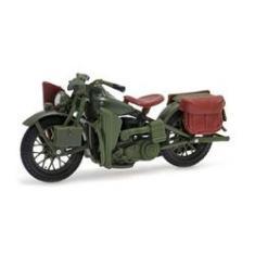 Imagem de Harley Davidson Flanthead Wla 1942 Maisto 1:18 Série 26