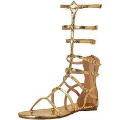 Imagem de Sandália feminina plana Ellie Shoes 015-zena