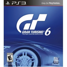 Jogo Gran Turismo 6 PlayStation 3 Sony