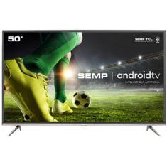 "Smart TV LED 50"" Semp 4K HDR 50SK8300 3 HDMI"