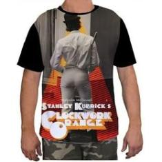 Imagem de Camisa Camiseta Masculina Clockwork Orang Laranja Mecanica 8