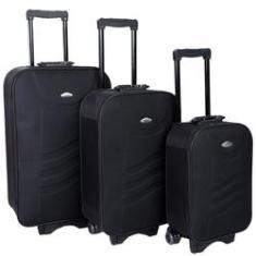 Imagem de Conjunto Mala De Viagem Com 3 Peças (Mala P Regulamentação ANAC)