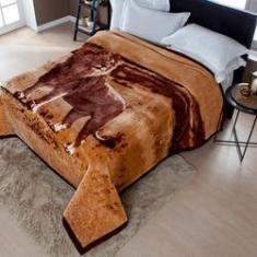 Imagem de Cobertor Jolitex Raschel Plus Casal 1,80x2,20m Leão
