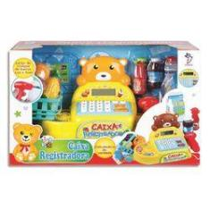 Imagem de Caixa Registradora Infantil Mercadinho Urso Fenix Brinquedos