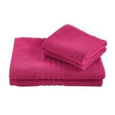Imagem de Jogo Toalha Felpuda De Banho Lepper Unique 3 Peças Pink