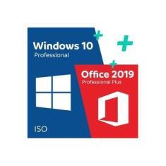 Kit Licença Windows 10 Pro Professional + Office 2019 Professional Plus