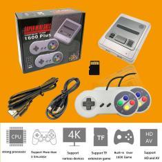 Imagem de Console de jogo retro portátil 4k hd 64 bit, controle de tv mini, 1600 jogos para snes/gba/md gaming