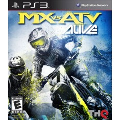 Jogo MX Vs ATV: Alive PlayStation 3 THQ
