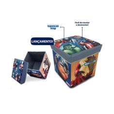 Imagem de Porta-Objetos Banquinho Vingadores - Zippy Toys