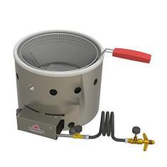 Fritadeira Tacho 3 Litros a Gás Aço Inox Frituras Salgados