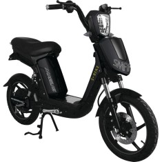 Bicicleta Elétrica Ma.Gi.As Italiane Aro 18 Freio a Disco Hidráulico Smarty