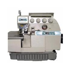 Maquina de costura Overloque Ponto Cadeia  Industrial 4  fios MS Maquinas  Com Mesa e Motor,5500ppm,