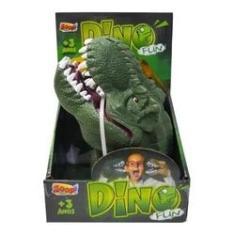 Imagem de Dino Fun Luva Fantoche Dinossauro Borracha Zooptoys
