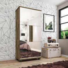 Imagem de Sapateira Com Espelho Requinte Amadeirado - Rv Móveis
