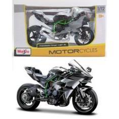 Imagem de Kawasaki Ninja H2R - Motorcycles - 1/12 - Maisto