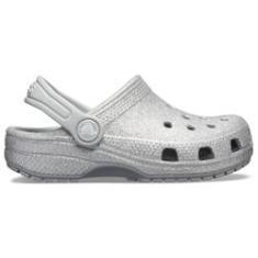 Imagem de Crocs Classic Glitter Clog K Silver