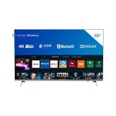 "Smart TV LED 50"" Philips Série 6600 4K HDR 50PUG6654/78"