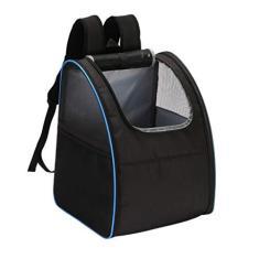 Imagem de Mochila para transporte de animais de estimação, mochila dobrável para animais de estimação, mochila luxuosa para gatos e cães pequenos, design de ventilação, caminhadas, uso ao ar livre