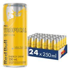 Imagem de Energético Red Bull Energy Drink, Tropical, 250Ml (24 Latas)