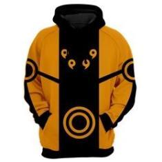 Imagem de Blusa de Frio Moletom Naruto Uzumaki Laranja