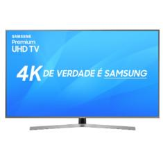 "Smart TV TV LED 50"" Samsung Série 7 4K HDR Netflix 50NU7400 3 HDMI"