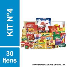 Imagem de Cesta Básica De Alimentos C/ 30 Itens