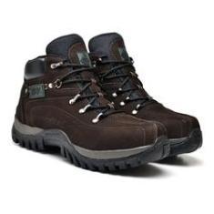 Imagem de bota coturno masculina em couro tank boots