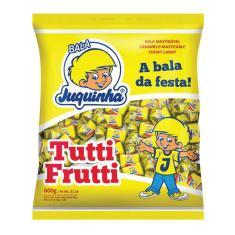 Imagem de Bala Mastigável Juquinha Tutti Frutti 600g - Florestal