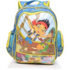 Mochila Escolar Dermiwil Disney Jake e os Piratas M