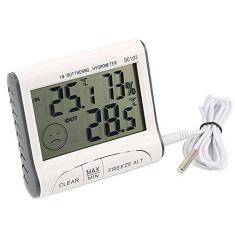 Imagem de Termômetro Interno E Externo Com Higrômetro Interno Digital Com Máxima E Mínima Dc103