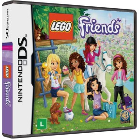 Jogo Lego Friends Warner Bros Nintendo DS