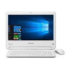 "All in One Positivo Union Intel Celeron N2808 1,50 GHz 4 GB SSD 32 GB Intel HD Graphics 18,5"" Windows 10 Home UD3531"