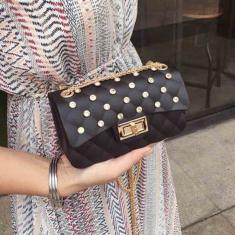Imagem de Pvc Feminino Luxo Bag Mulheres Bandoleira Bolsas de Ombro Messenger Bags Menina pequena-G